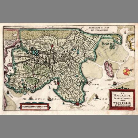 Daniel de la Feulle - West Friesland 1702