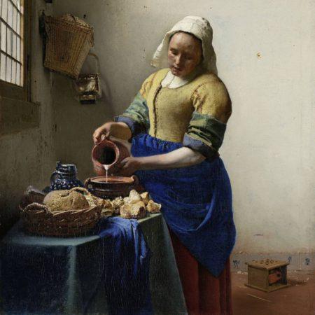 Het melkmeisje - Johannes Vermeer - De Molensteen Hoorn
